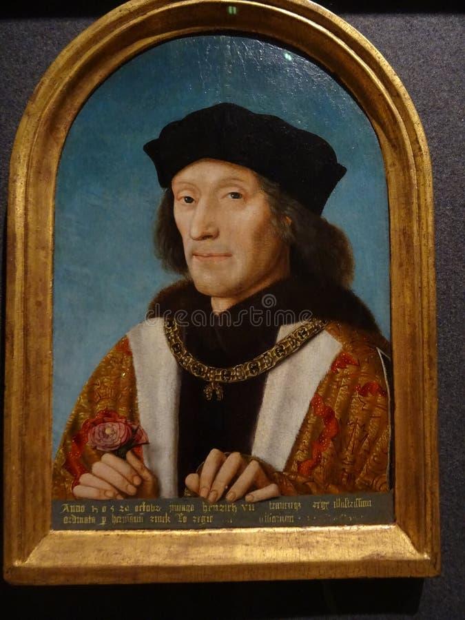 Η εθνική στοά πορτρέτου: Henry 7 στοκ φωτογραφίες