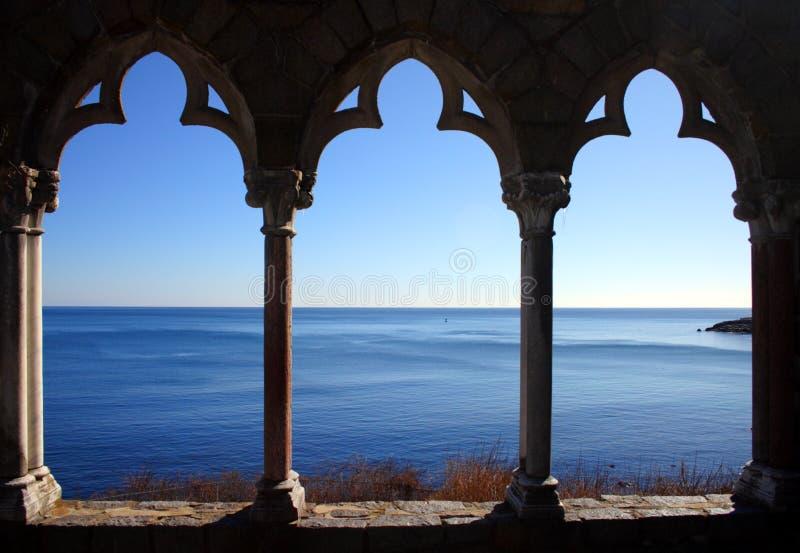 Η εικόνα αποθεμάτων του κάστρου Hammond βρίσκεται στην ακτή της Μασαχουσέτης, ΗΠΑ στοκ εικόνες με δικαίωμα ελεύθερης χρήσης