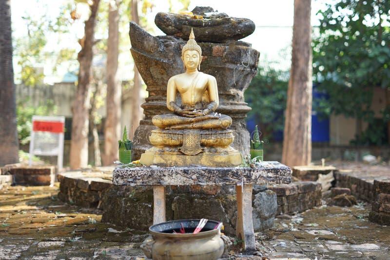 Η εικόνα του Βούδα στοκ φωτογραφίες