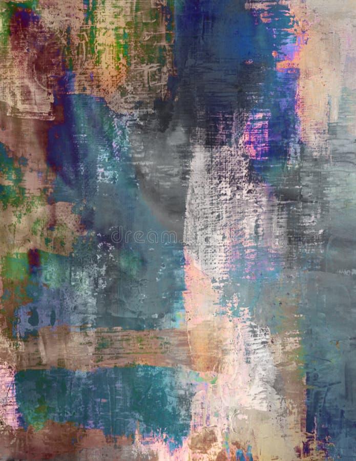 Η λεκιασμένη περίληψη βούρτσισε το χρωματισμένο κλωστοϋφαντουργικό προϊόν υποβάθρου Grunge στοκ φωτογραφίες