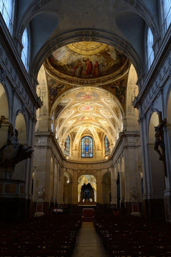 Η εκκλησία Άγιος-Roch στο Παρίσι στοκ φωτογραφίες