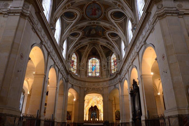 Η εκκλησία Άγιος-Roch στο Παρίσι στοκ φωτογραφία