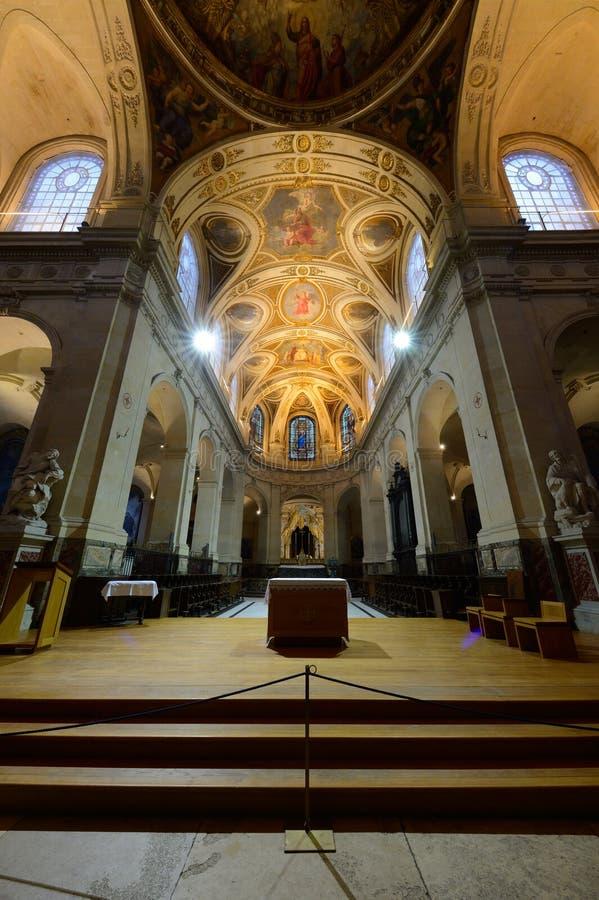 Η εκκλησία Άγιος-Roch στο Παρίσι στοκ φωτογραφίες με δικαίωμα ελεύθερης χρήσης
