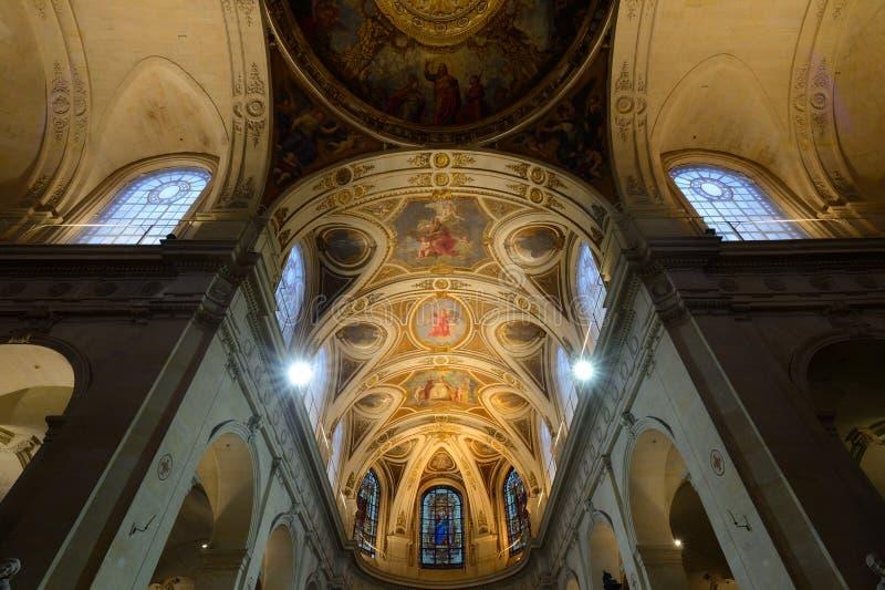 Η εκκλησία Άγιος-Roch στο Παρίσι στοκ φωτογραφία με δικαίωμα ελεύθερης χρήσης