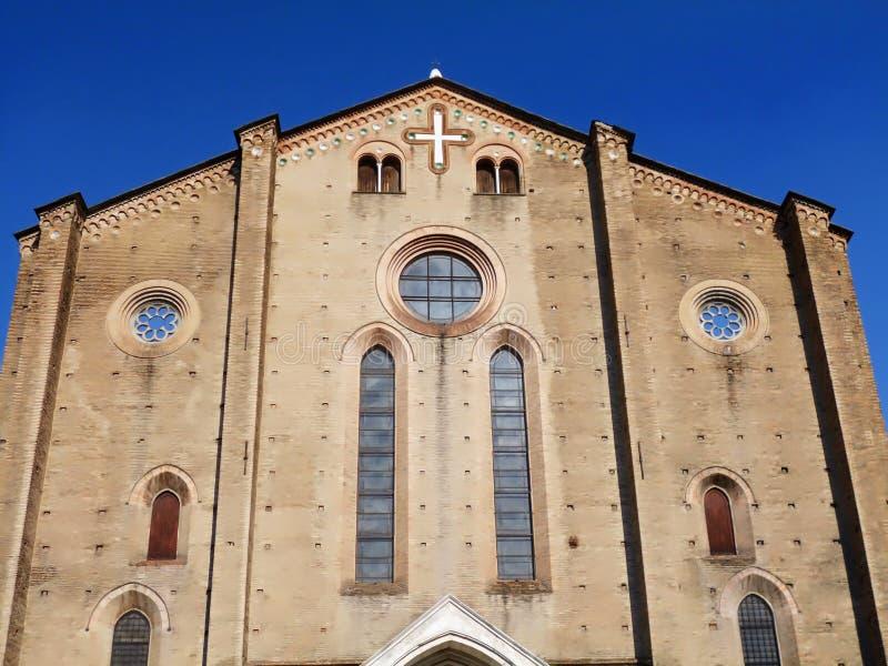 Η εκκλησία Αγίου Francis στην πόλη της Μπολόνιας στοκ φωτογραφία με δικαίωμα ελεύθερης χρήσης