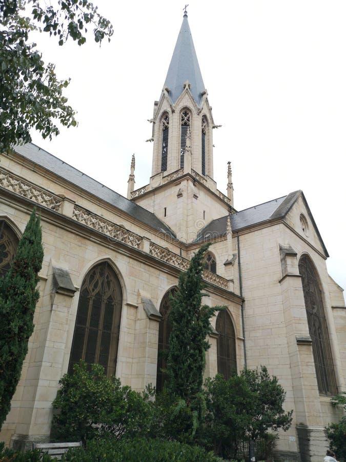Η εκκλησία Αγίου Georges, Λυών, Γαλλία στοκ φωτογραφία με δικαίωμα ελεύθερης χρήσης