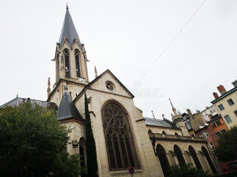Η εκκλησία Αγίου Georges, Λυών, Γαλλία στοκ εικόνες με δικαίωμα ελεύθερης χρήσης