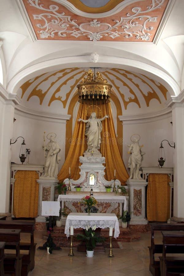 Η εκκλησία Αγίου Roch, Piran, Σλοβενία στοκ φωτογραφία με δικαίωμα ελεύθερης χρήσης