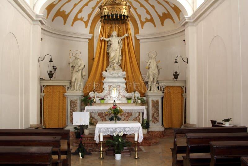 Η εκκλησία Αγίου Roch, Piran, Σλοβενία στοκ φωτογραφίες