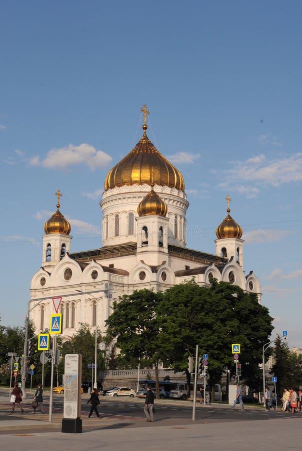 Η εκκλησία καθεδρικών ναών Χριστού το Savior - η Μόσχα, Ρωσία στοκ εικόνα