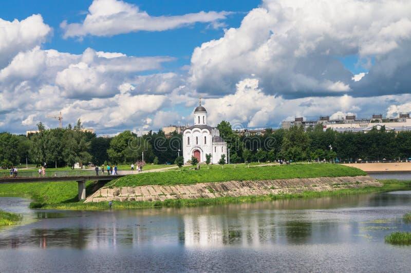 Η εκκλησία του Michael Tver στην πόλη Tver, Ρωσία στοκ φωτογραφία με δικαίωμα ελεύθερης χρήσης