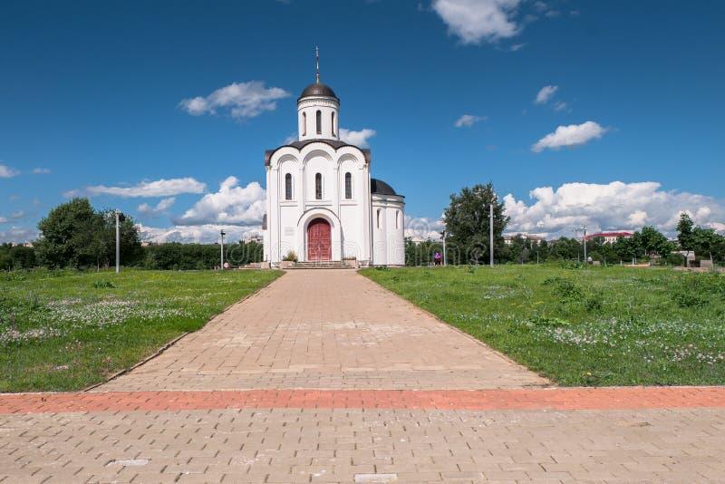 Η εκκλησία του Michael Tver στην πόλη Tver, Ρωσία στοκ εικόνες