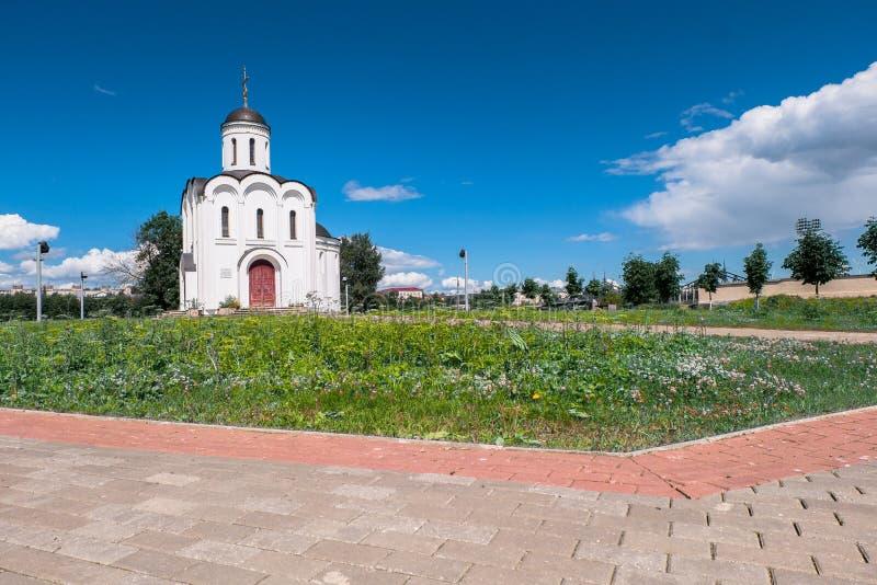 Η εκκλησία του Michael Tver στην πόλη Tver, Ρωσία στοκ φωτογραφία