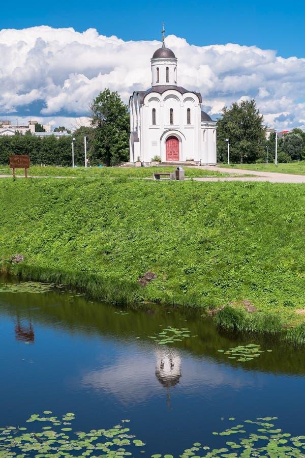 Η εκκλησία του Michael Tver στην πόλη Tver, Ρωσία στοκ εικόνα