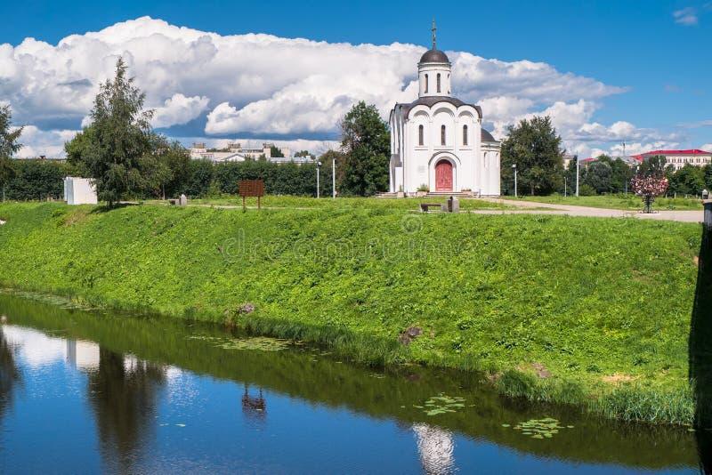 Η εκκλησία του Michael Tver στην πόλη Tver, Ρωσία στοκ φωτογραφίες