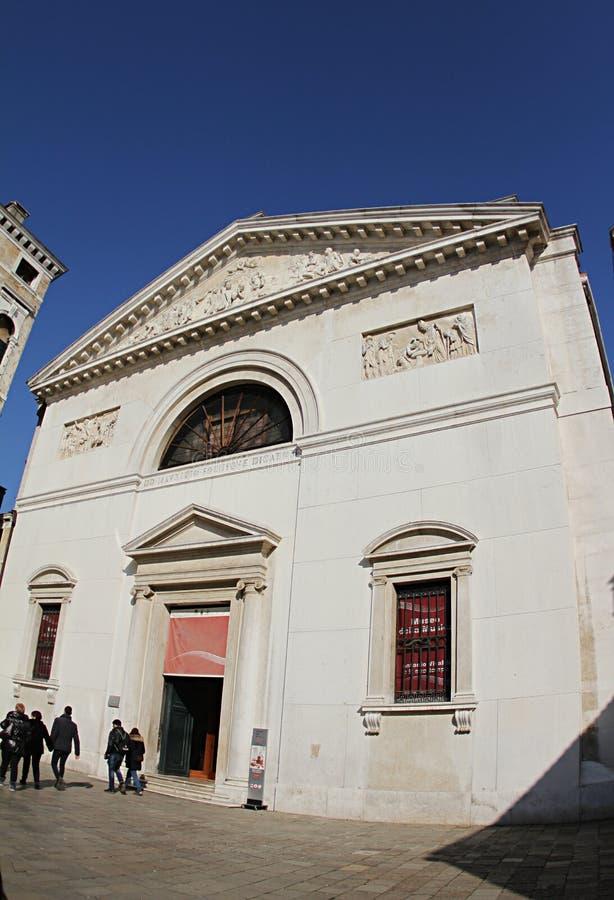 Η εκκλησία του SAN Mauricio στη Βενετία 2019 στοκ εικόνες