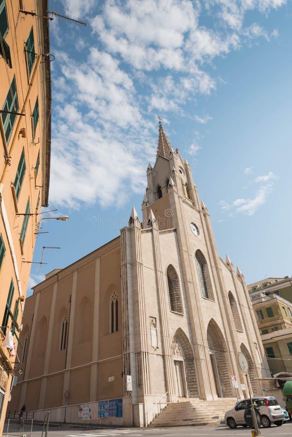 Η εκκλησία του SAN Teodoro Γένοβα στοκ φωτογραφίες με δικαίωμα ελεύθερης χρήσης