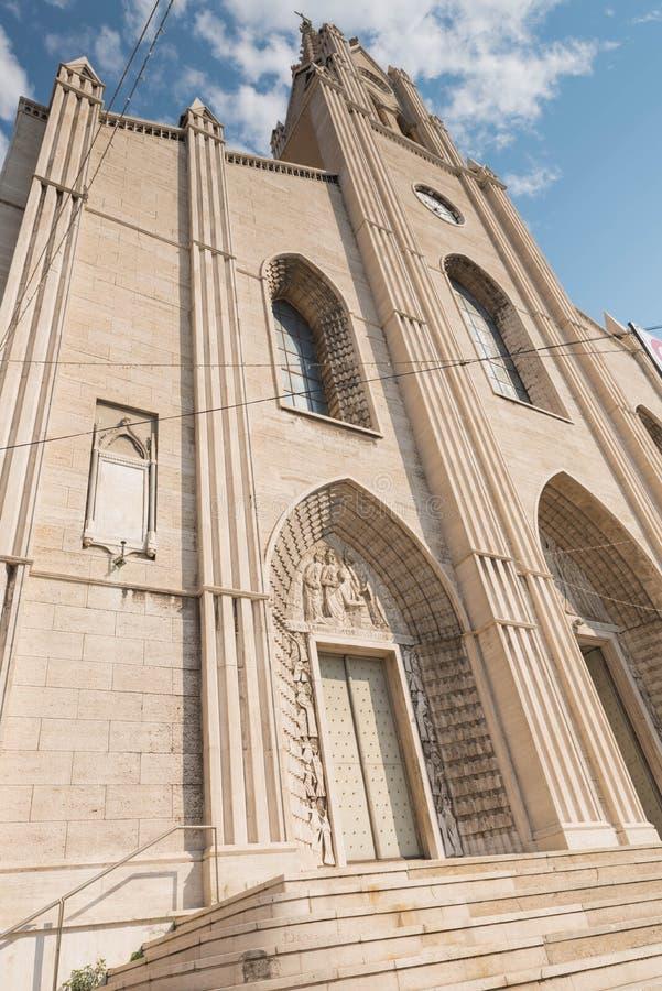 Η εκκλησία του SAN Teodoro Γένοβα στοκ φωτογραφία