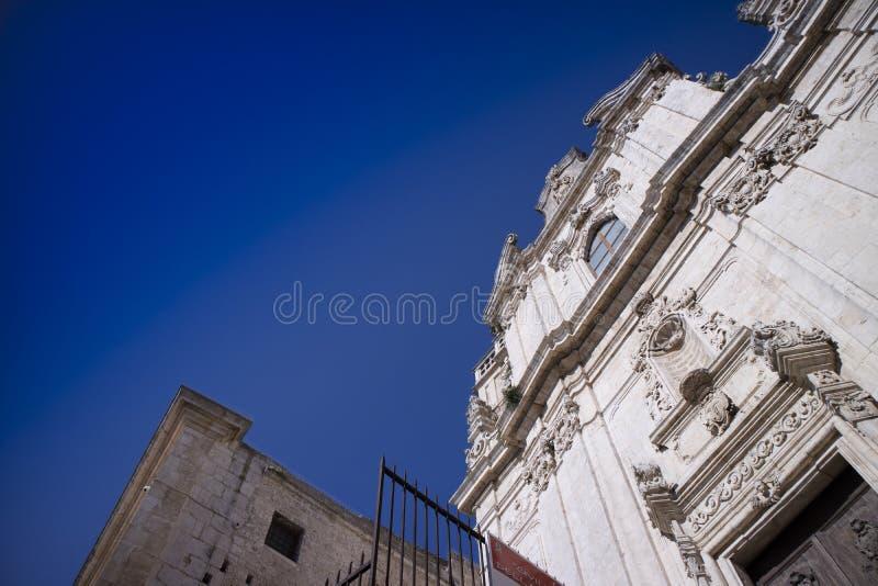 Η εκκλησία του SAN Vito Martire στοκ φωτογραφίες