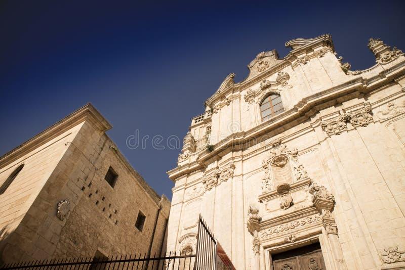 Η εκκλησία του SAN Vito Martire στοκ φωτογραφία