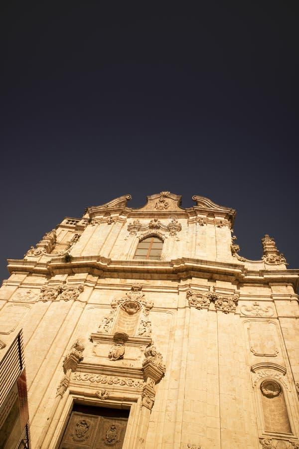 Η εκκλησία του SAN Vito Martire στοκ εικόνες