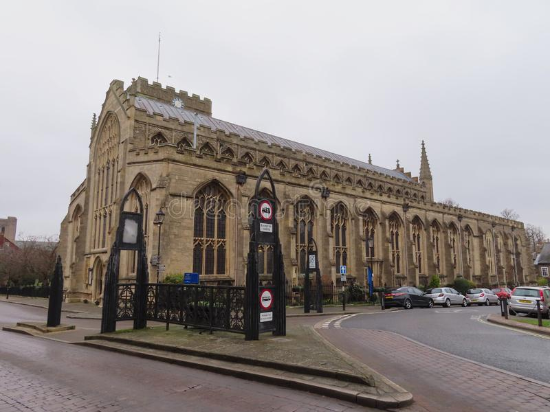 Η εκκλησία του ST Mary, θάβει το ST Edmunds στοκ φωτογραφίες