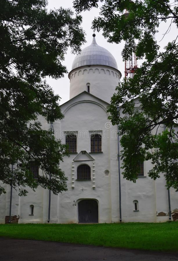 Η εκκλησία του vlasius στο Velikiy Novgorod Ρωσία στοκ φωτογραφίες