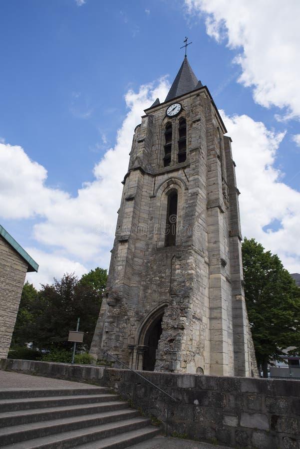 9η εκκλησία EN Γαλλία αιώνα στοκ φωτογραφία