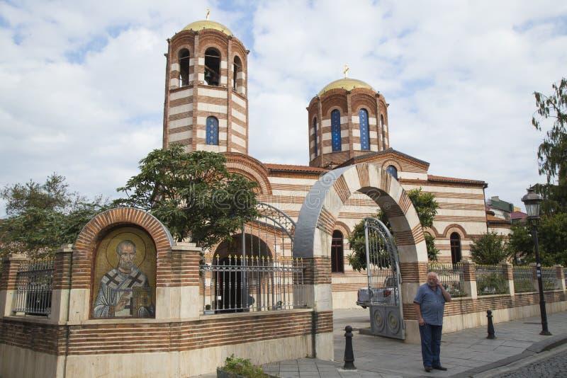 Η εκκλησία του Άγιου Βασίλη σε Batumi στοκ εικόνες με δικαίωμα ελεύθερης χρήσης