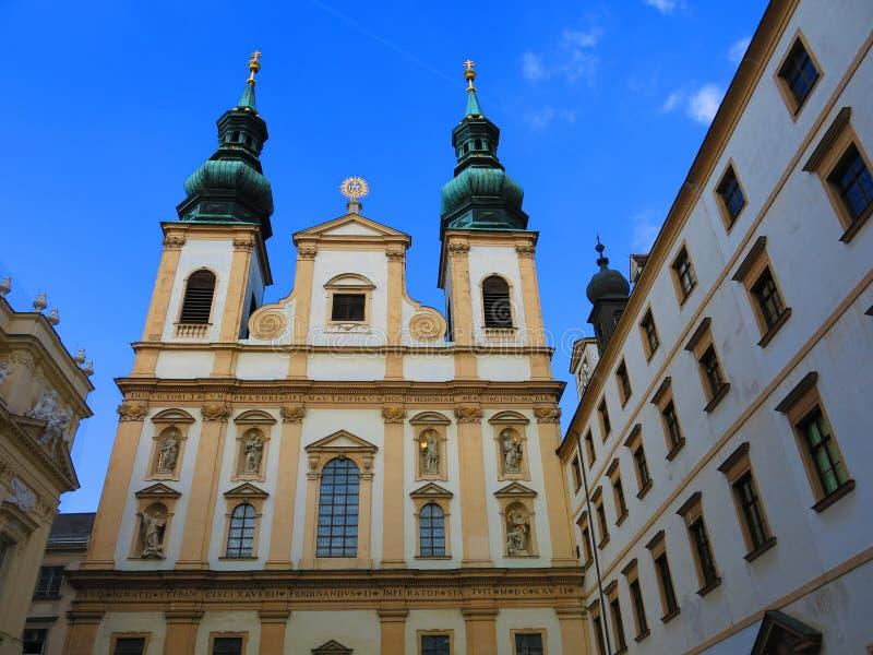 Η εκκλησία Jesuit στη Βιέννη στοκ εικόνες