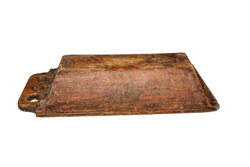 Η εκλεκτής ποιότητας ξύλινη γούρνα, χρησιμοποιούμενη, ράγισε, με τα σημεία του μύκητα ξύλινος-αποσύνθεσης οικογένεια εξοπλισμού π στοκ φωτογραφία με δικαίωμα ελεύθερης χρήσης