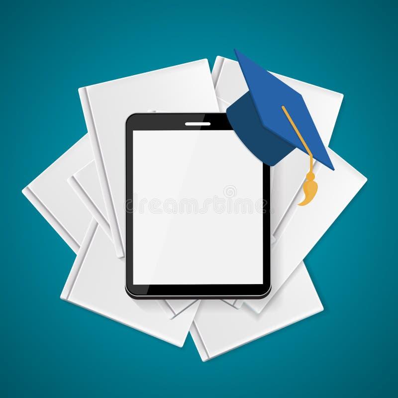 η εκπαίδευση επιχειρησιακής έννοιας απομόνωσε το λευκό Τάσεις και καινοτομία στην εκπαίδευση διανυσματική απεικόνιση