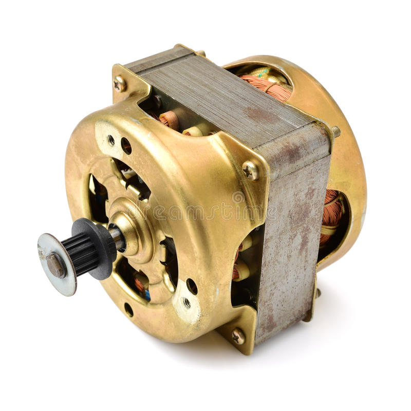 ηλεκτρική μηχανή μικρή στοκ εικόνα με δικαίωμα ελεύθερης χρήσης
