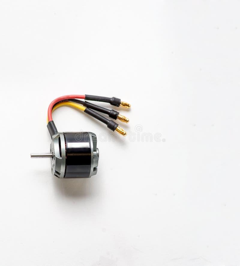 Ηλεκτρική μηχανή μικροϋπολογιστών που χρησιμοποιεί το συνεχές ρεύμα για τα πρότυπα των αεροσκαφών στοκ φωτογραφία