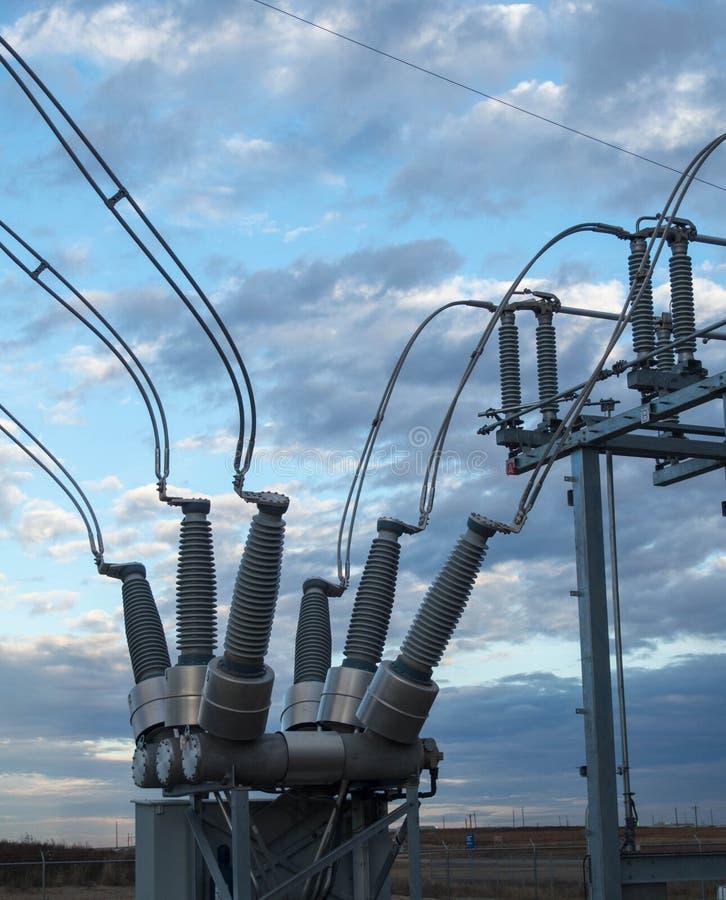 Ηλεκτρικός αποσυνδέστε για την ηλεκτρική παραγωγή στοκ φωτογραφία