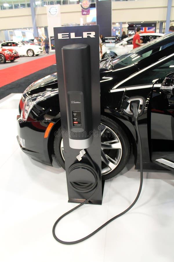 Ηλεκτρικό αυτοκίνητο 2015 Chrysler στοκ εικόνες με δικαίωμα ελεύθερης χρήσης