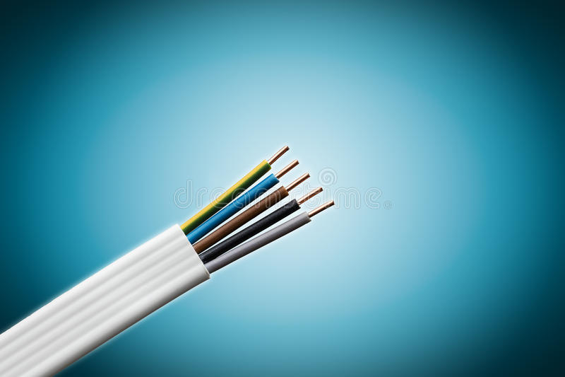 ηλεκτρικό καλώδιο στοκ εικόνες με δικαίωμα ελεύθερης χρήσης