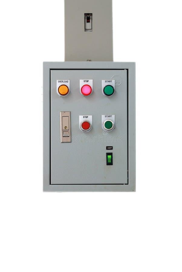 Ηλεκτρικό κιβώτιο ελέγχου στοκ φωτογραφία με δικαίωμα ελεύθερης χρήσης