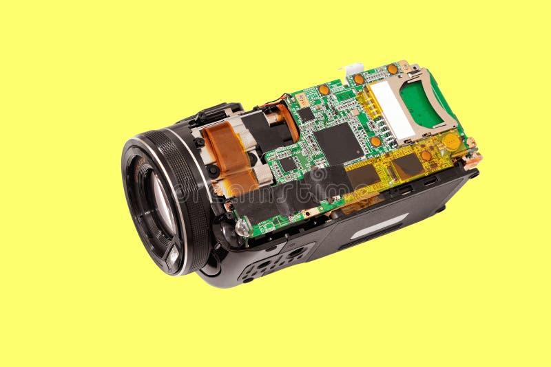Ηλεκτρονικά βιντεοκάμερα πινάκων στοκ φωτογραφία με δικαίωμα ελεύθερης χρήσης