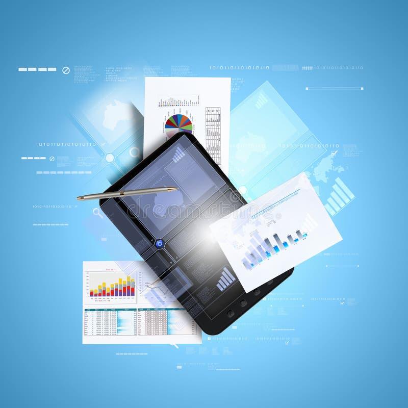 Ηλεκτρονικό εμπόριο απεικόνιση αποθεμάτων