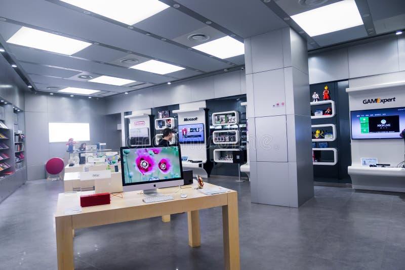 Ηλεκτρονικό κατάστημα ΤΠ στοκ φωτογραφία