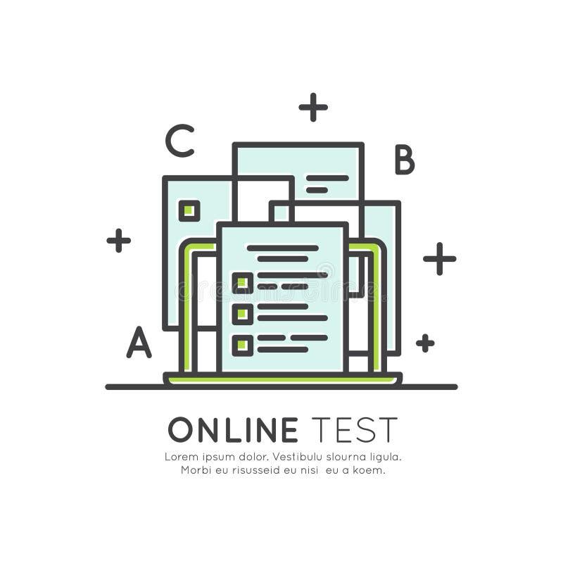 Ηλεκτρονικό σύστημα δοκιμής, διαδικασία εξέτασης απόστασης ελεύθερη απεικόνιση δικαιώματος