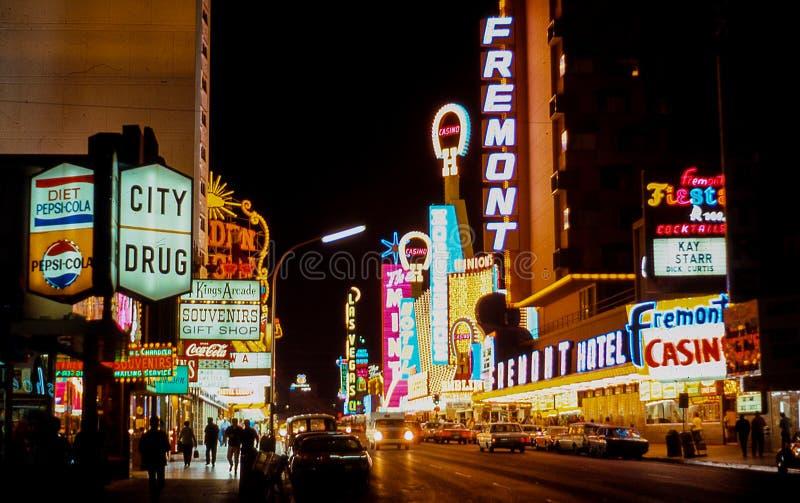 Η εκλεκτής ποιότητας παλαιά μέση δεκαετία του '70 του Λας Βέγκας στοκ φωτογραφία