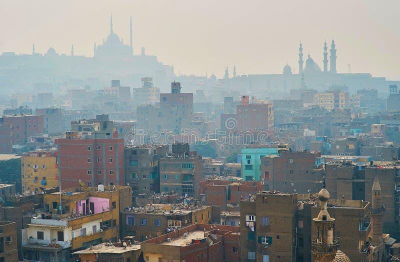 Η ελαφριά ομίχλη στο παλαιό Κάιρο, Αίγυπτος στοκ φωτογραφίες με δικαίωμα ελεύθερης χρήσης