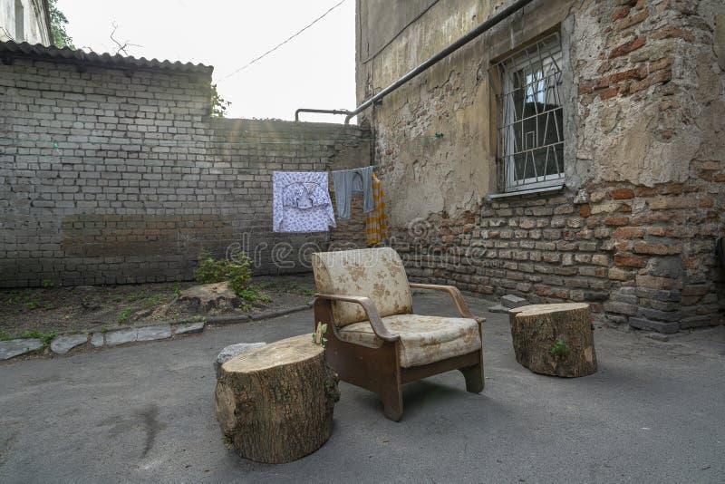 Η ελεύθερη κατάσταση Uzupio, μια περιοχή σε Vilnius στοκ φωτογραφίες