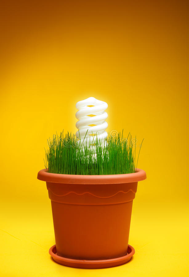 η ενεργειακή φύση eco προστατεύει τη χρήση στοκ εικόνα με δικαίωμα ελεύθερης χρήσης