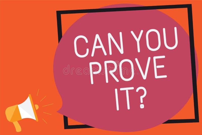 Η εννοιολογική παρουσίαση γραψίματος χεριών μπορεί εσείς να το αποδείξει ερώτηση Κείμενο επιχειρησιακών φωτογραφιών που ρωτά κάπο απεικόνιση αποθεμάτων