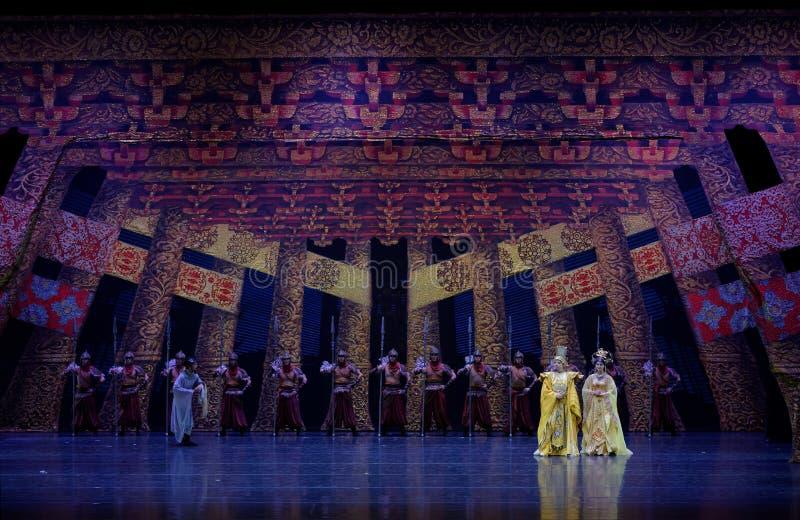 Η επίσκεψη πριγκηπισσών ` s στην κουρτίνα οικογένεια-ουρών: ` Δρόμος ` μεταξιού - επική πριγκήπισσα ` μεταξιού δράματος ` χορού στοκ φωτογραφίες