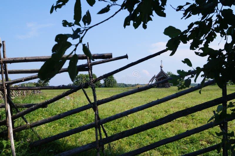 Η επαρχία στο νησί Kizhi στην Καρελία στοκ φωτογραφίες με δικαίωμα ελεύθερης χρήσης