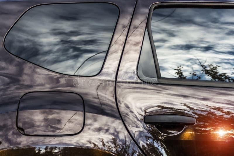 Η επιφάνεια του αυτοκινήτου στοκ εικόνες με δικαίωμα ελεύθερης χρήσης